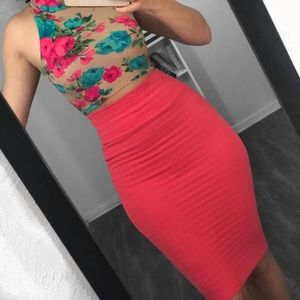 🎉 bundle of crop top and skirt
